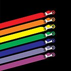 Race The Rainbow (iPhone Case) by Eozen