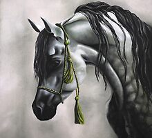 The Inquisitive One - Arabian Horse Series by SebastianART101