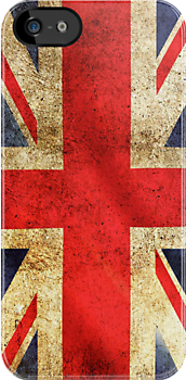 UK Flag - Battleworn by SOIL