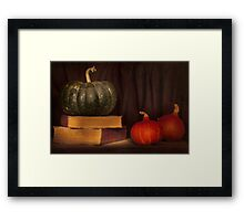Autumn prose Framed Print