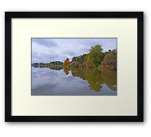 The Reflective Jewel Framed Print