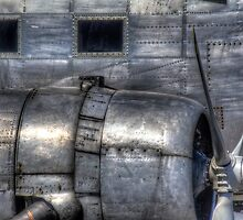 Aluminum Skin -- Douglas DC-3 Up Close by njordphoto