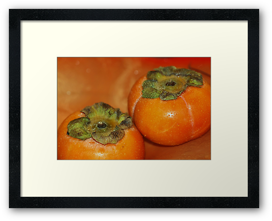 persimmon fruits by ANNABEL   S. ALENTON