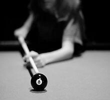 Keep your eye on the ball (Pool Series) by laruecherie
