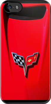 Little Red Corvette iPhone Case by Ron Hannah