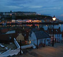 Whitby night lights by StephenRB