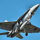 F18 - Super Hornet - RAAF Base Williamtown NSW Australia by Phil Woodman