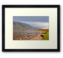 The Bleakness of Wast Water Framed Print