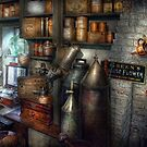 Pharmacy - Tools - August flowers by Mike  Savad