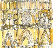 Notre dame de paris by David Hargreaves