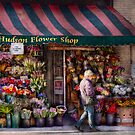 Flower Shop - NY - Chelsea - Hudson Flower Shop  by Mike  Savad