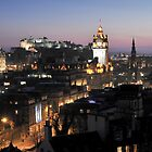 Edinburgh Skyline by TonyClerkson