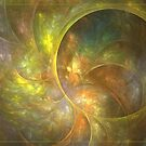 Life of leaf by Fractal artist Sipo Liimatainen