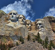 Mount Rushmore National Memorial In High Definition by Lanis Rossi