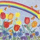 Hummingbird Heaven by Judy Newcomb