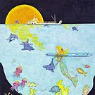 Moonlight Crossing II by Judy Newcomb