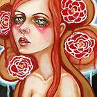Scarlet Begonias by MoonSpiral