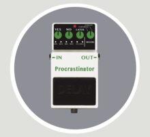 'The Procrastinator' Effects Pedal - T Shirt by BlueShift
