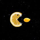 Lemon eats lemon by Boriana Giormova