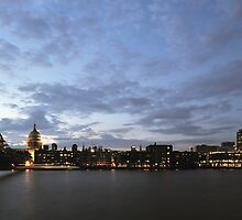 London, The City and St Paul's Cathedral by TonyClerkson