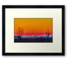 Dawn's New Light Framed Print