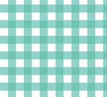 Pale Blue Gingham by Ruth Fitta-Schulz