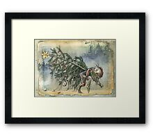 Stealing Christmas Framed Print