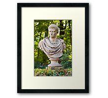 Roman emperor Caligula. Framed Print
