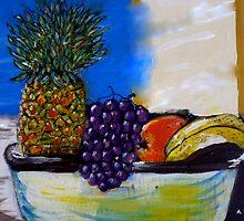 Fruit By My Window - Sydney, Australia by Angela Gannicott