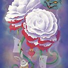 Painted Roses for Wonderland's Heartless Queen by Audra Lemke