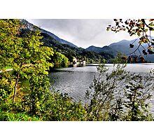enjoying the lake Photographic Print