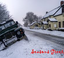Landy in the ditch by Rob Hawkins