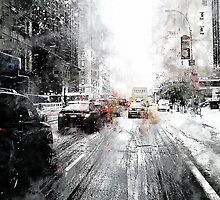 Snow in New York 2 by DARREL NEAVES