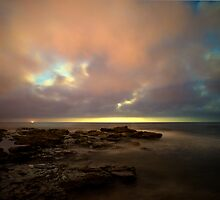 Moon Rise - Collaroy by matthewsugars