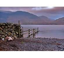 The Fence - Buttermere Photographic Print