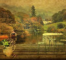 Sit and Take in The View ! by Irene  Burdell