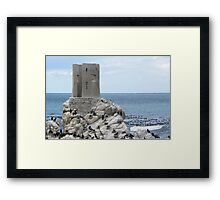 Old Light House at Betty's Bay Framed Print