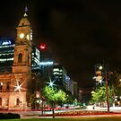Adelaide Night Scenery by Kelvin  Wong