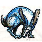 Blue Rabbit by Meredith Nolan