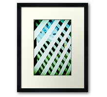 Stripes-2 Framed Print