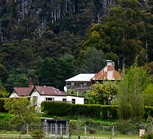 Oast House Lachlan Tasmania by Odille Esmonde-Morgan