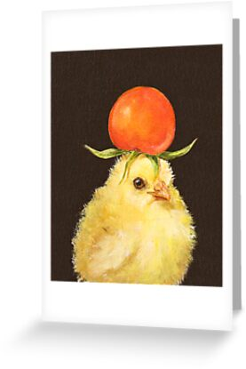 Tomato Peep by Vicki Sawyer