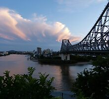 Brisbane at sunset by PhotosByG