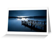 Coles Bay Sunrise Greeting Card