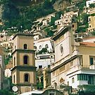 "Wish You Were Here - Positano, Italy by Christine ""Xine"" Segalas"