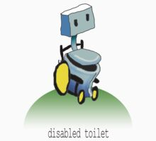 disabled toilet by mouseman