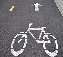 Bicycle lane. by FER737NG