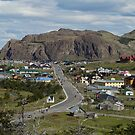 The township of El Chalten, Patagonia, Argentina by Coreena Vieth