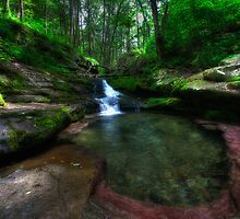 Waterfalls by SpeezPhotos
