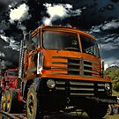 1959 Diamond T Cab Over Truck by TeeMack